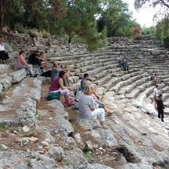 Das antike Amphitheater in Phaselis